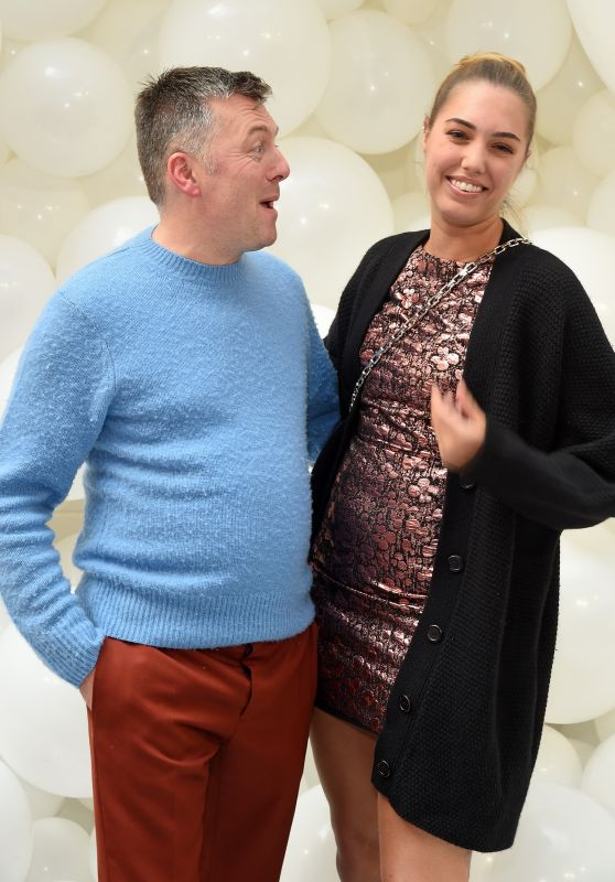 Amber Le Bon – Markus Lupfer Presentation in London 09/16/2017