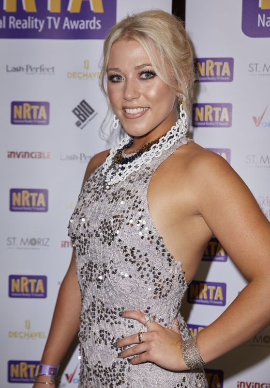 Amelia Lily – National Reality Awards in London 09/18/2017
