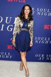 "America Olivo – ""Our Souls at Night"" Premiere in New York 09/27/2017"