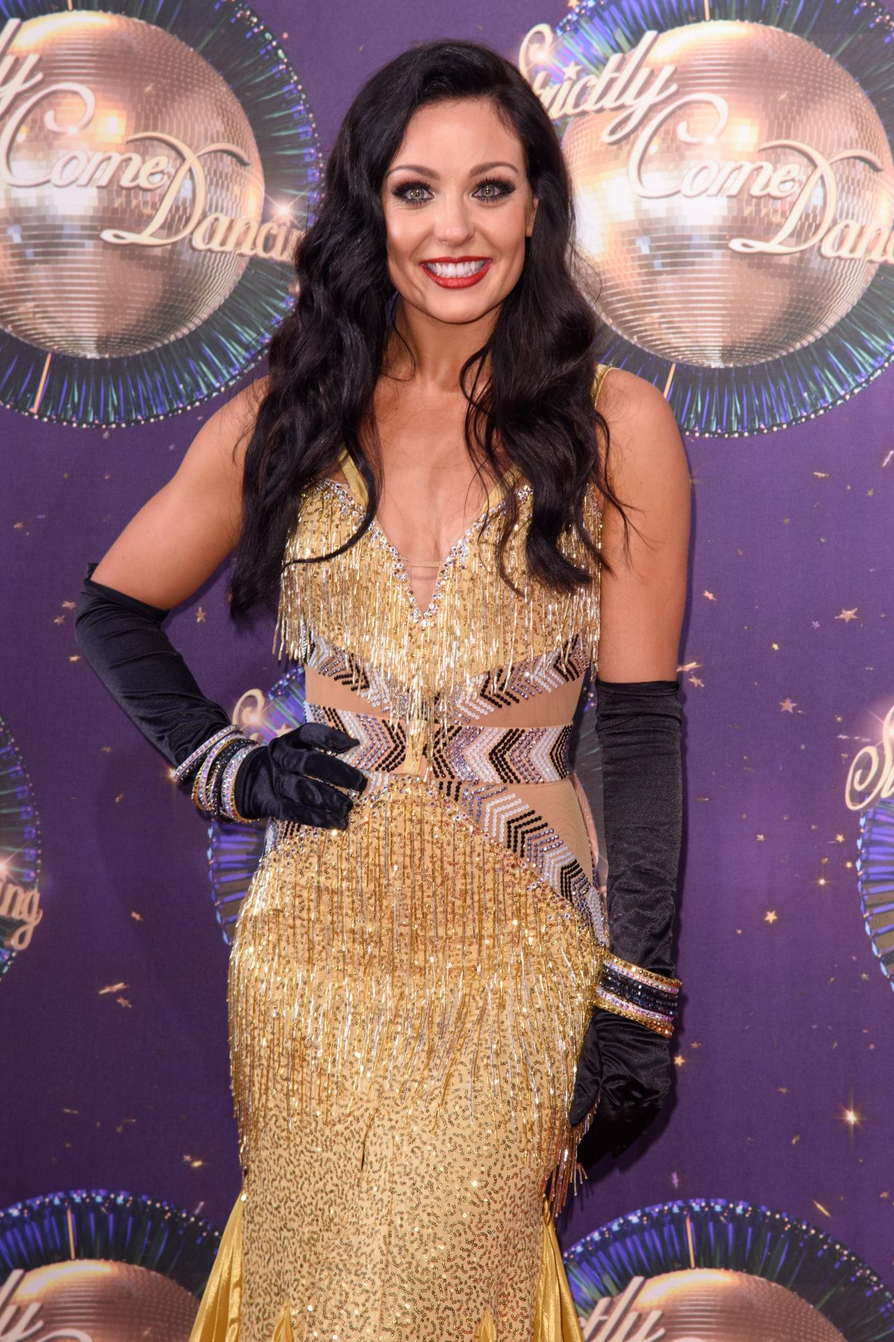 """Amy Dowden – """"Strictly Come Dancing"""" Launch in London 08 ..."""