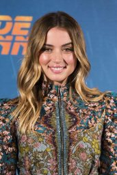"Ana de Armas – ""Blade Runner 2049"" P0hotocall in Madrid 09/19/2017"