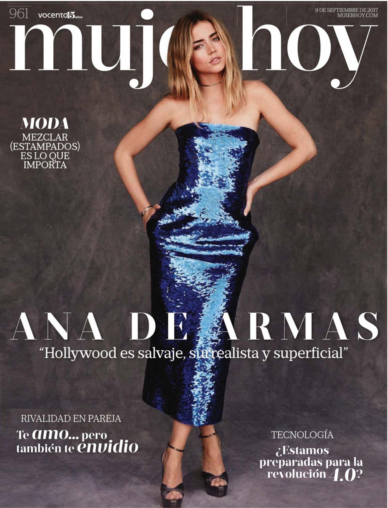 Ana de Armas - Mujer Hoy Magazine September 2017 Issue