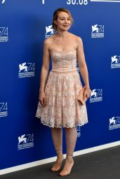 "Anamaria Marinca – ""Nico, 1988"" Photocall at the Venice Film Festival 08/30/2017"