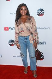 Andrea Lewis – YouTube TV & ABC Tuesday Block Party in NYC 09/23/2017