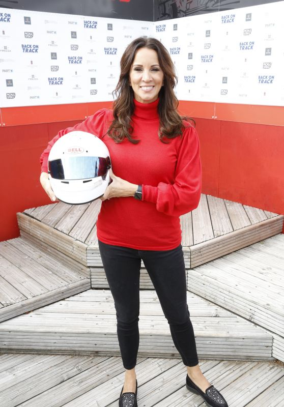 Andrea McLean at The Daytonna Race Track in London 09/23/2017