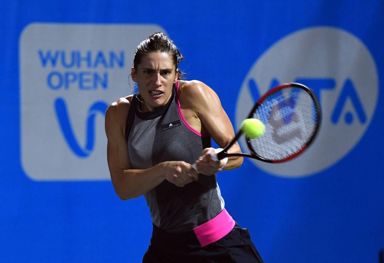 Andrea Petkovic Wta Wuhan Open In Wuhan 09 23 2017