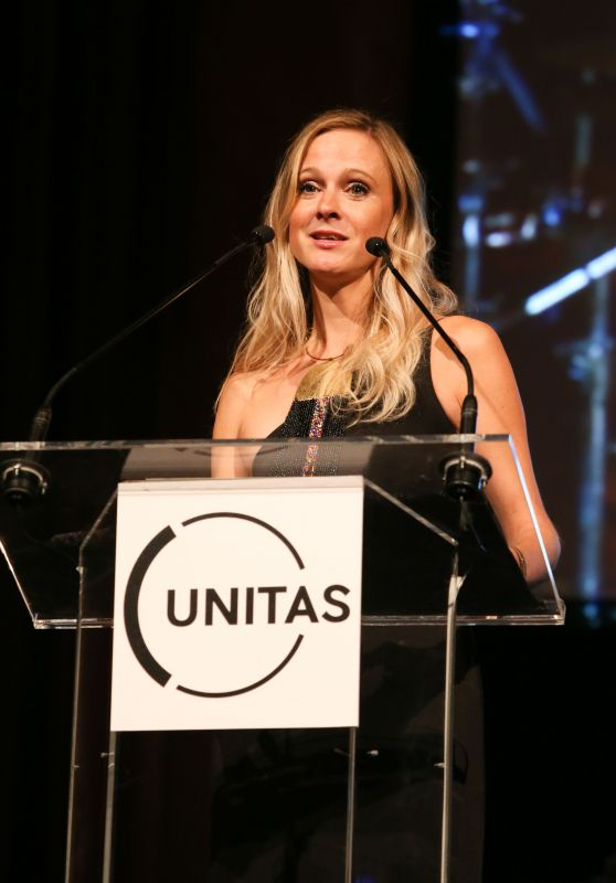 Andrea Powell – UNITAS Gala Against Human Trafficking at New York Fashion Week 09/12/2017