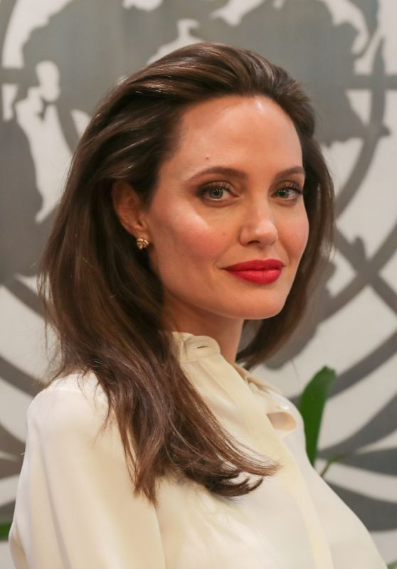 Angelina Jolie at United Nations in New York 09/14/2017