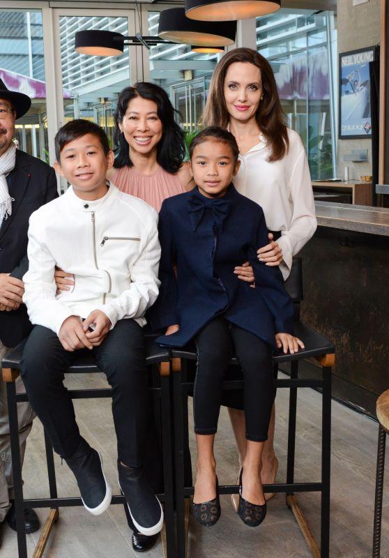 Angelina Jolie – Variety Studio at TIFF in Toronto 09/12/2017
