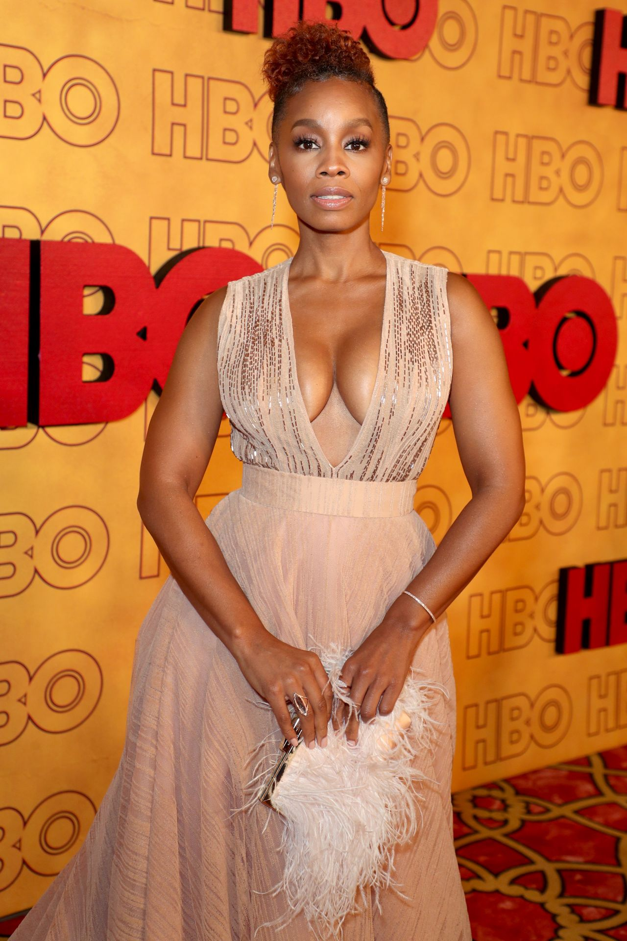 Anika Noni Rose Hbo S Post Emmy Awards Party In La 09 17
