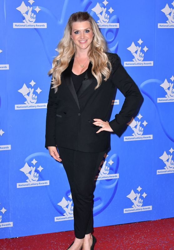 Anna Williamson – National Lottery Awards in London 09/18/2017