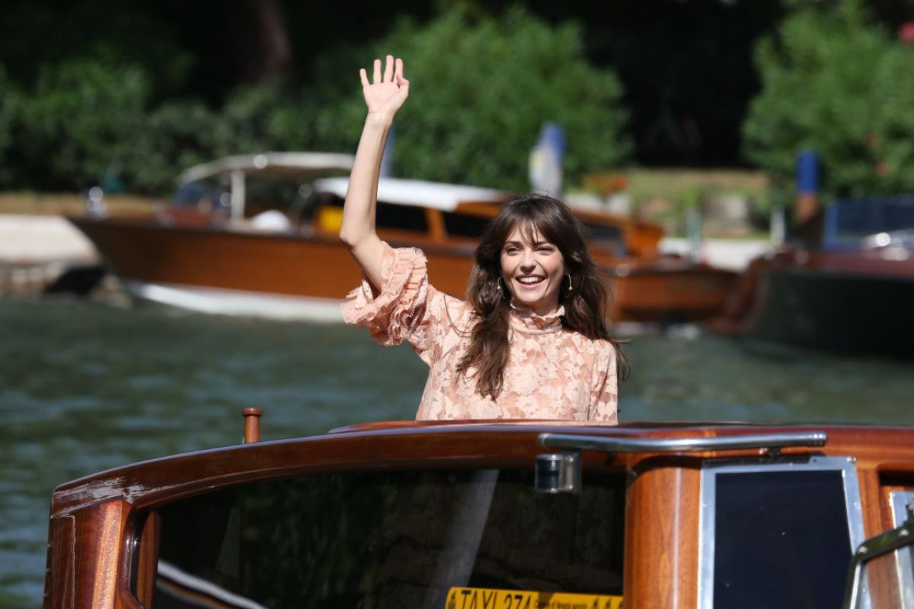 Annabelle Belmondo - Arrives at Excelsior Hotel in Venice, Italy 09/05/2017