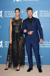 April Love Geary – Monte Carlo Gala for the Global Ocean, Monaco 09/28/2017