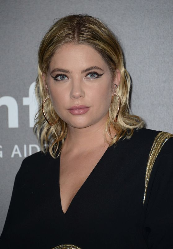 Ashley Benson – amfAR Gala Milano Red Carpet in Milan, Italy 09/21/2017