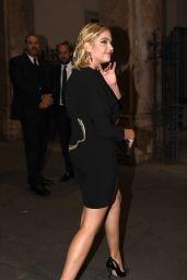 Ashley Benson - Outside amfAR Gala Milano in Milan 09/21/2017