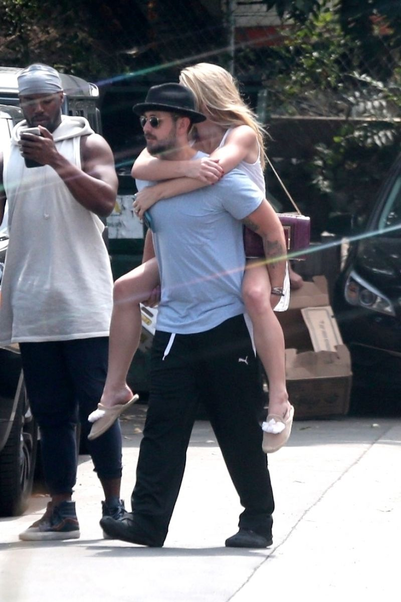 Ashley Greene With Paul Khoury at a Local Restaurant in Studio City 09/04/2017