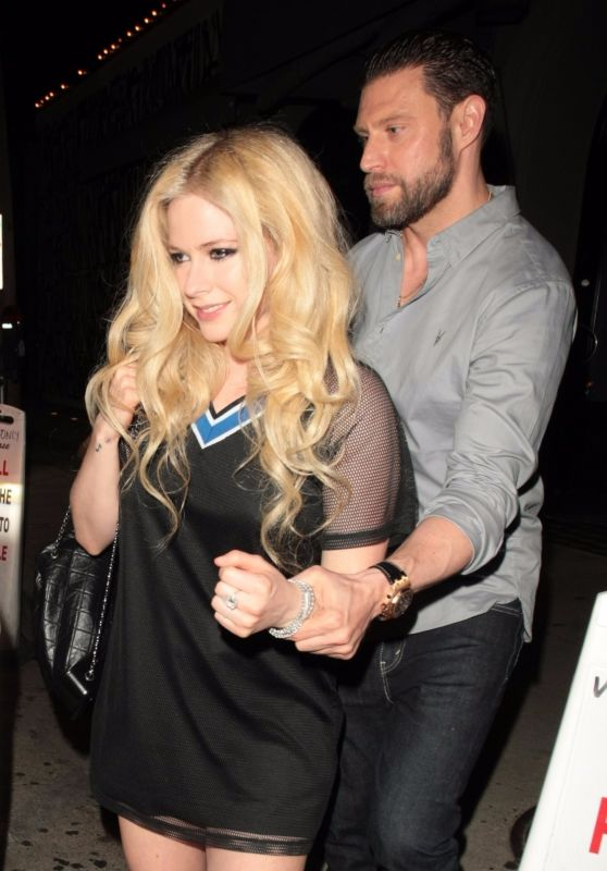Avril Lavigne Night Out  - Craig