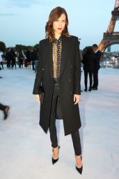 Aymeline Valade – Saint Laurent Fashion Show in Paris 09/26/2017
