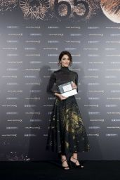 Barbara Lennie - Wins the Max Factor Award in San Sebastián 09/27/2017