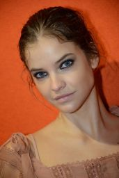 Barbara Palvin in the Backstage of the Parade of Alberta Ferretti in Milan 09/20/2017