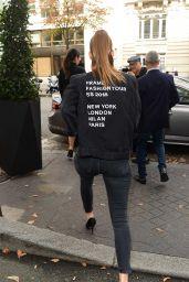 Barbara Palvin Style and Fashion Inspiration - Paris 09/29/2017