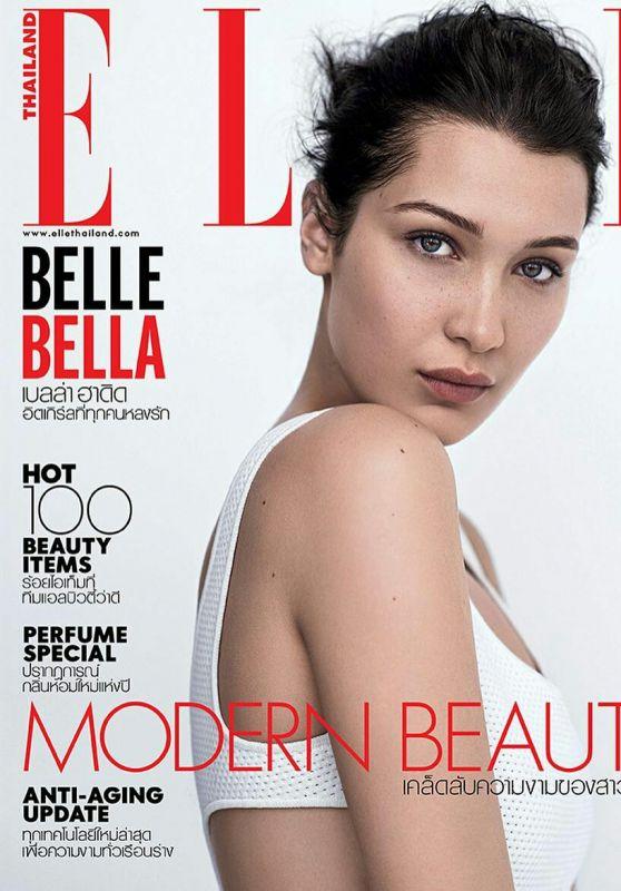 Bella Hadid - ELLE Magazine Cover Thailand September 2017