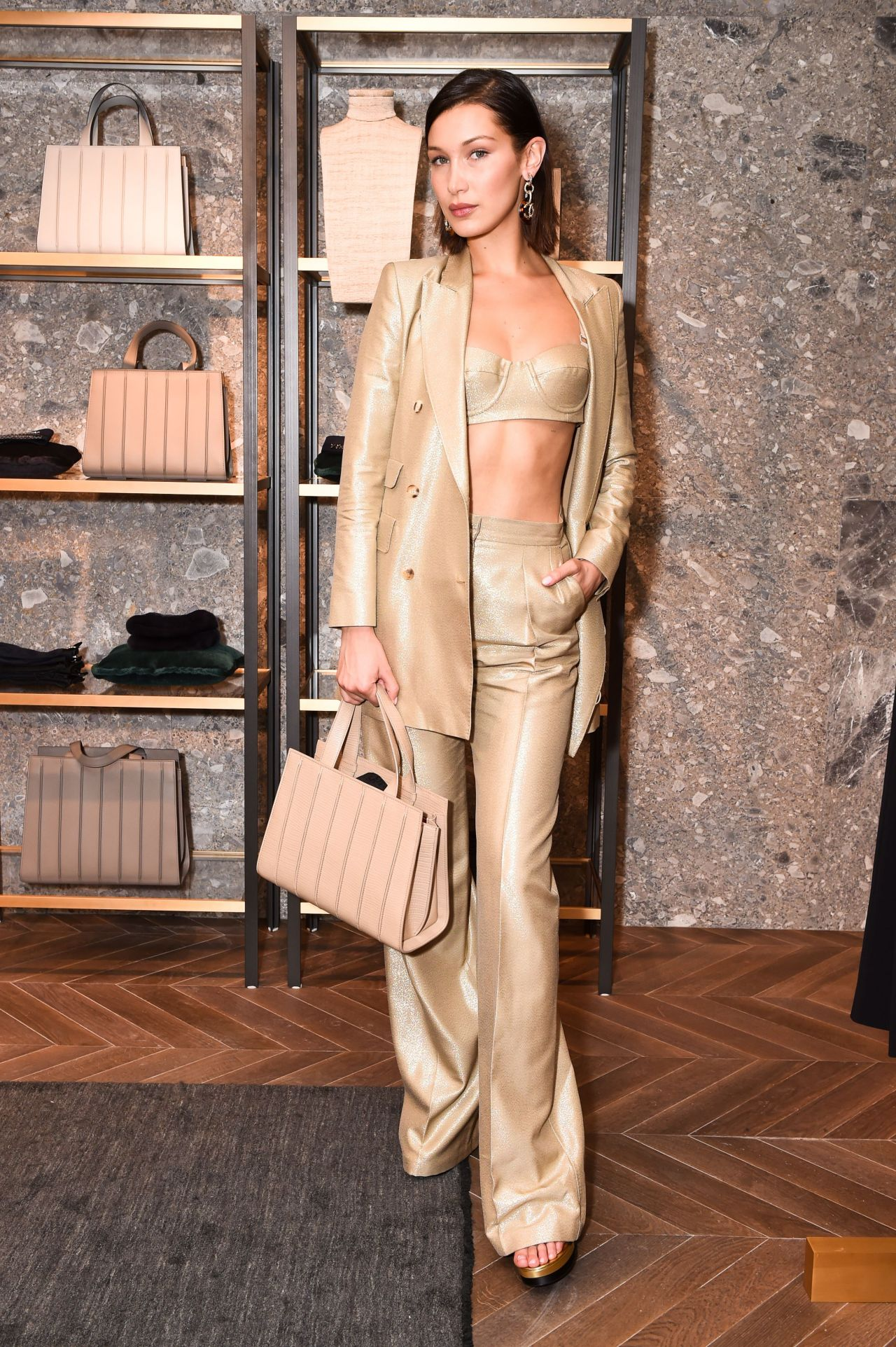 Bella Hadid - Max Mara Boutique Reopening - New York Fashion Week 09/08/2017