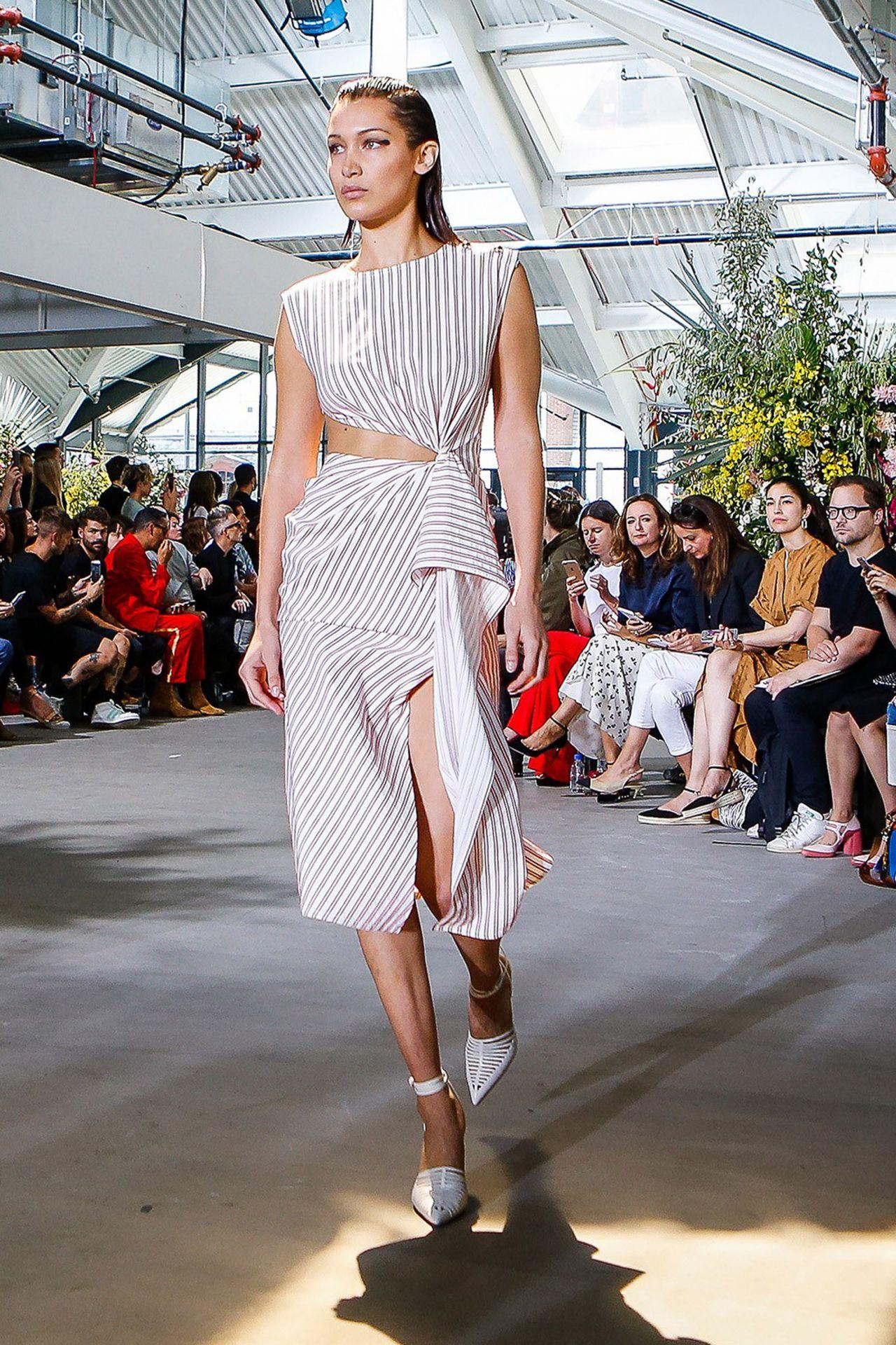 Bella Hadid - Walks the Runway for Jason Wu at NYFW in New York 09/08/2017