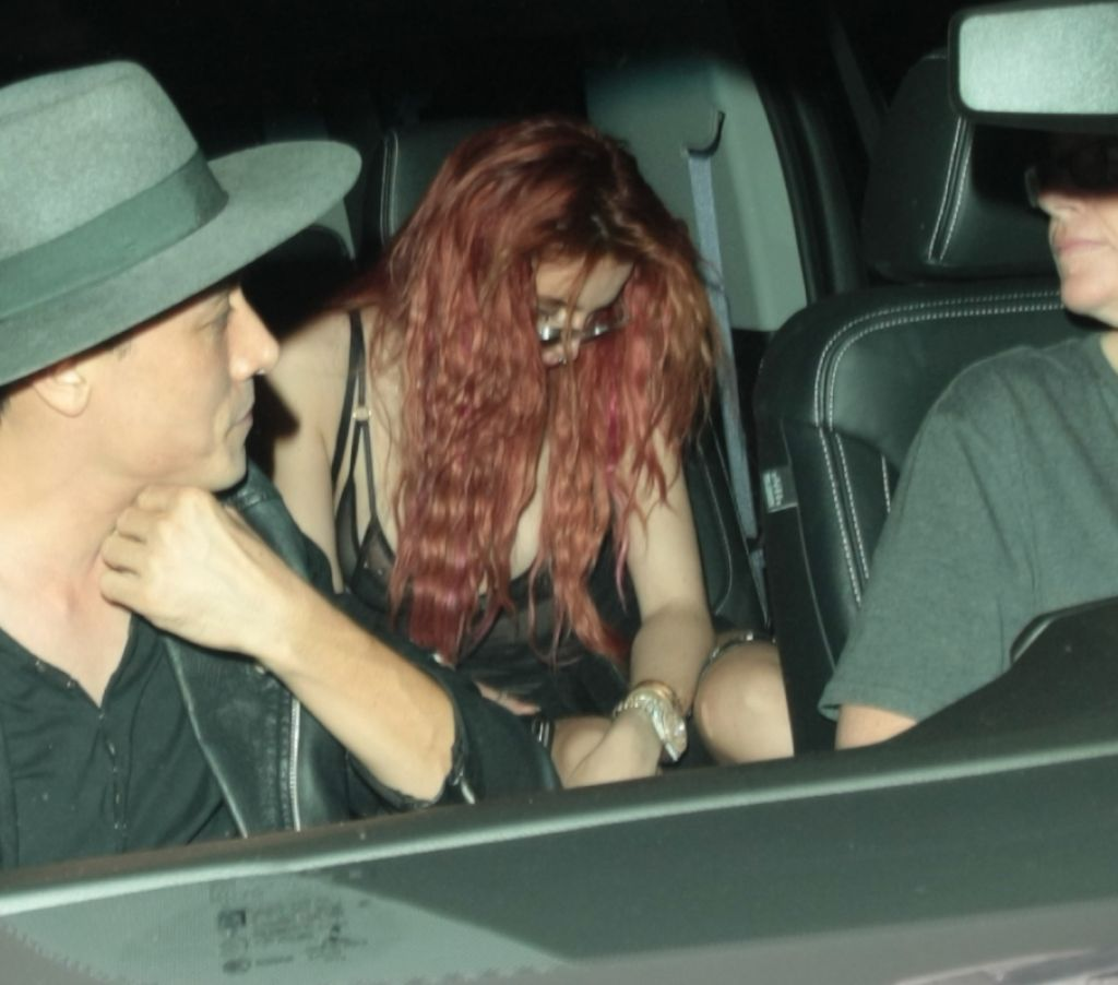 Bella Thorne - Leaving the Peppermint Club in West Hollywood 09/04/2017