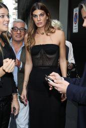 Bianca Brandolini – Dolce and Gabbana Show in Milan 09/24/2017