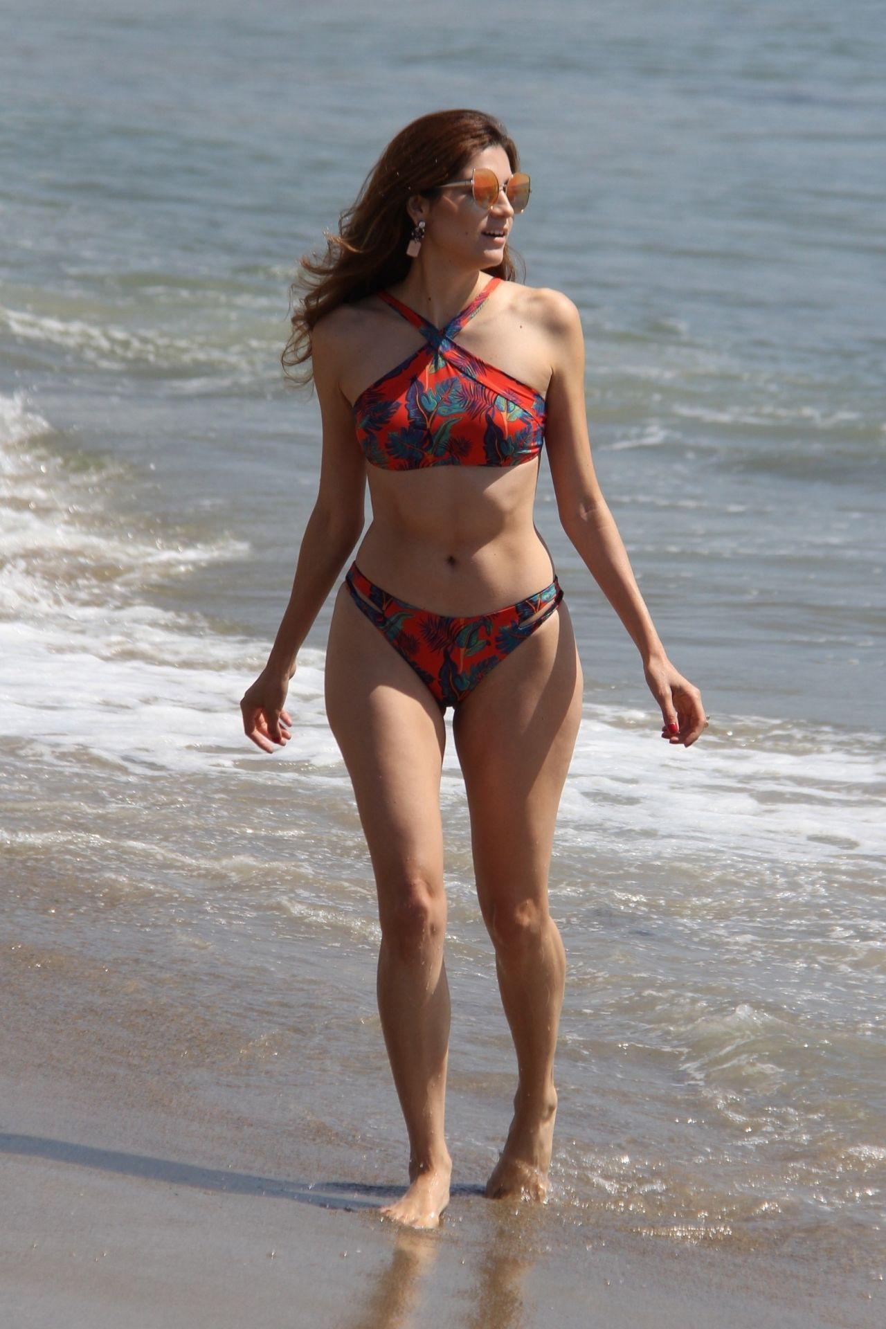 Blanca Blanco in Bikini - Beach in Malibu 09/22/2017
