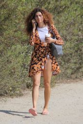 Blanca Blanco - Photoshoot on the Beach in Malibu 08/30/2017