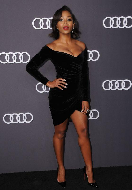 Bresha Webb – Audi Emmy Party in Los Angeles 09/14/2017