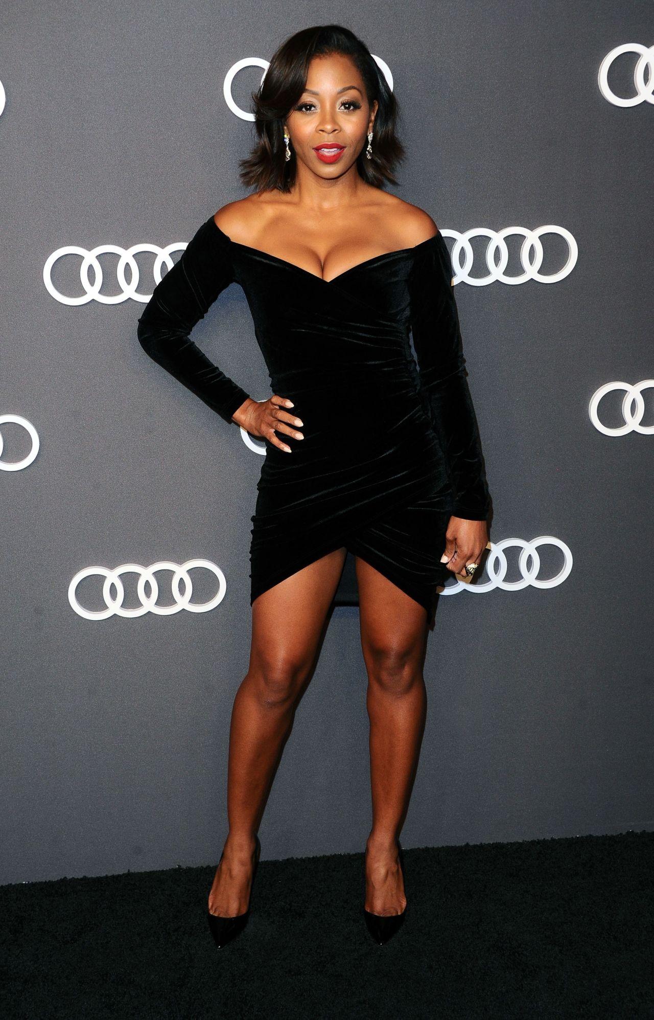 Bresha Webb Audi Emmy Party In Los Angeles 09 14 2017