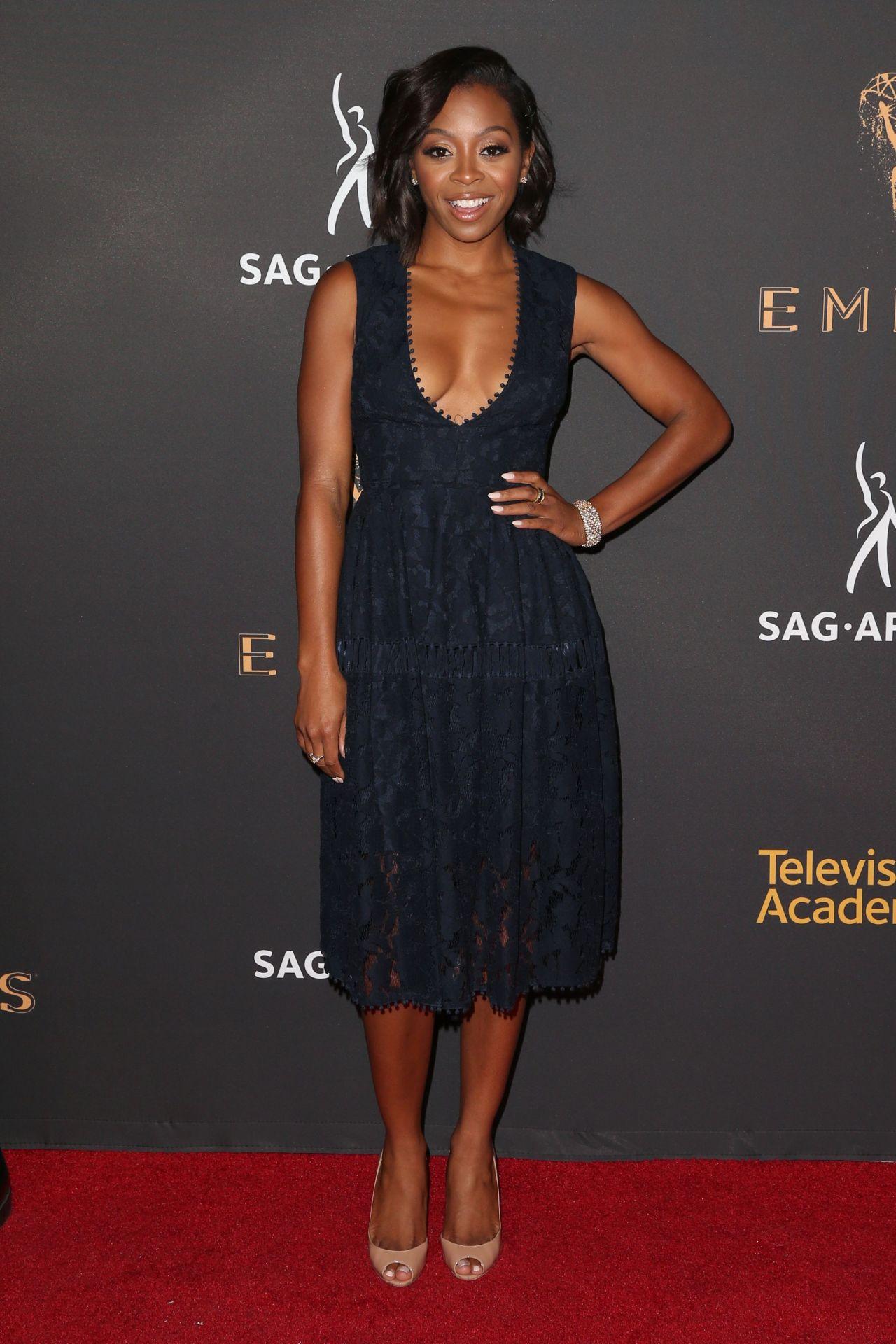 Bresha Webb – Dynamic & Diverse Emmy Reception in Los Angeles 09/12/2017