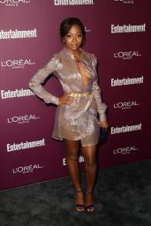 Bresha Webb – EW Pre-Emmy Party in West Hollywood 09/15/2017