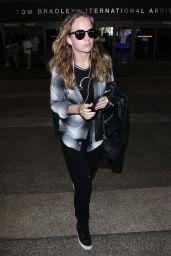 Britt Robertson at LAX Airport in LA 09/27/2017
