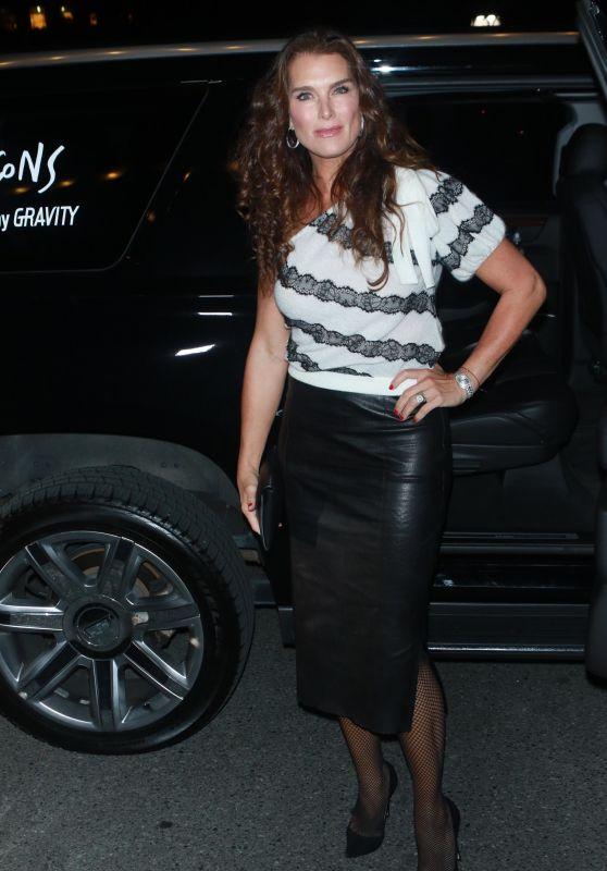 Brooke Shields – Harper's Bazaar ICONS Party in New York 09/08/2017