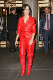 """Camila Cabello - Leaving """"The Tonight Show Starring Jimmy Fallon"""" in NYC 09/25/2017"""