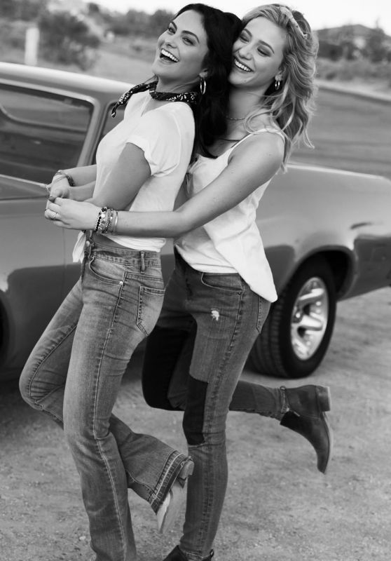 "Camila Mendes & Lili Reinhart – Bongo Jeans ""Bongo BFF's"" Fall 2017 Campaign (Part II)"