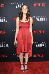 "Camille Ramsey – ""American Vandal"" TV Show Special Screening in Los Angeles 09/14/2017"