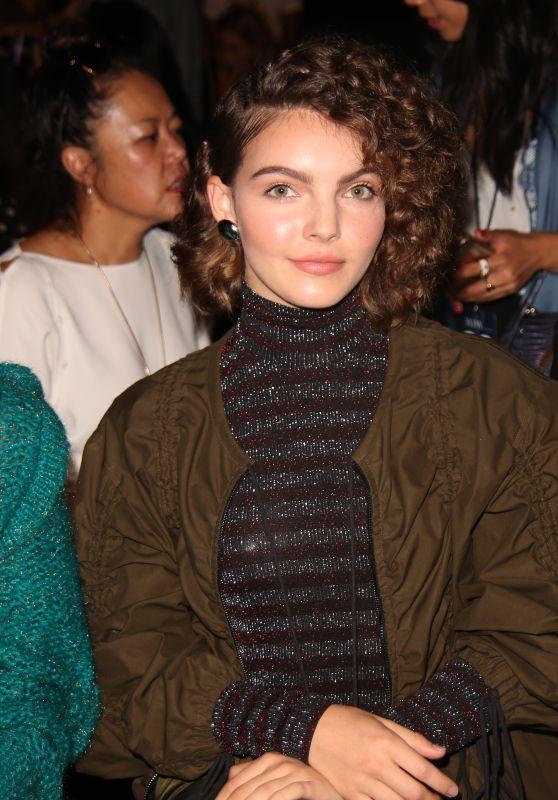 Camren Bicondova - Vivienne Tam Fashion Show in New York 09/10/2017