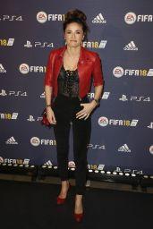 """Capucine Anav – """"FIFA 2018"""" Game Launch Party in Paris 09/25/2017"""