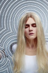 Cara Delevingne - Chemical X Unveils New Artwork