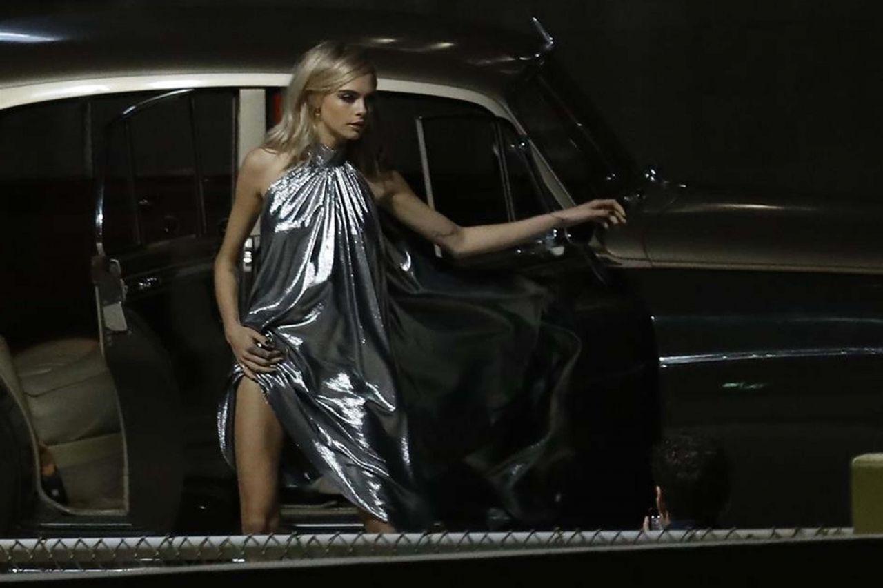 Cara Delevingne - Photoshoot Set in Los Angeles 09/25/2017