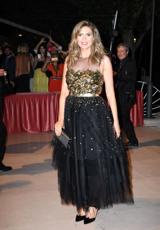 Carly Steel - Opening Ceremony Dinner, 74th Venice Film Festival 08/30/2017