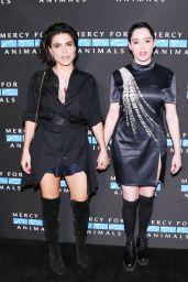 Carolina Levi & Rose McGowan – Mercy For Animals Annual Hidden Heroes Gala in Los Angeles 09/23/2017
