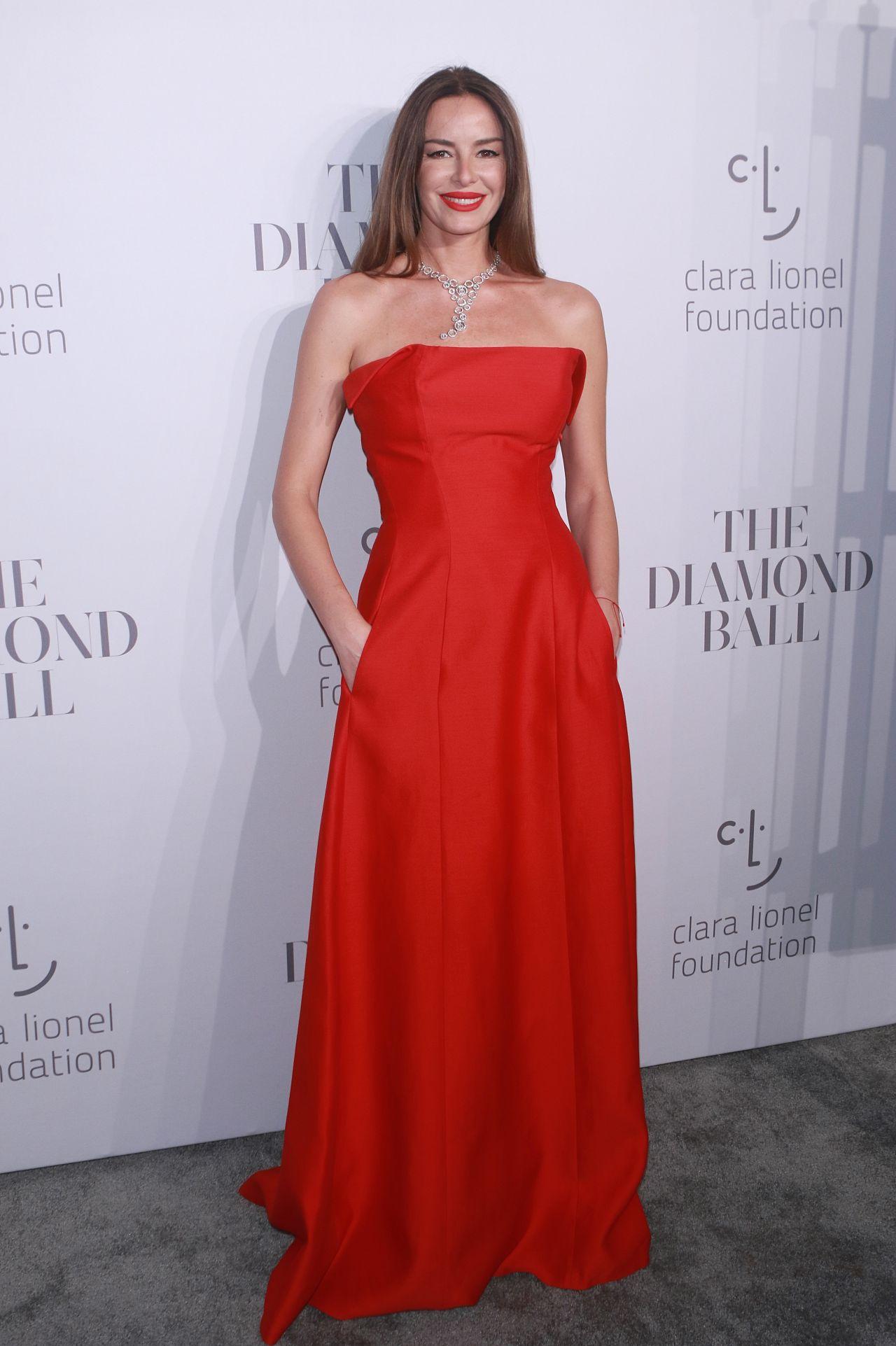 Carolina Parsons – Rihanna's Clara Lionel Foundation Diamond Ball in NY 09/14/2017