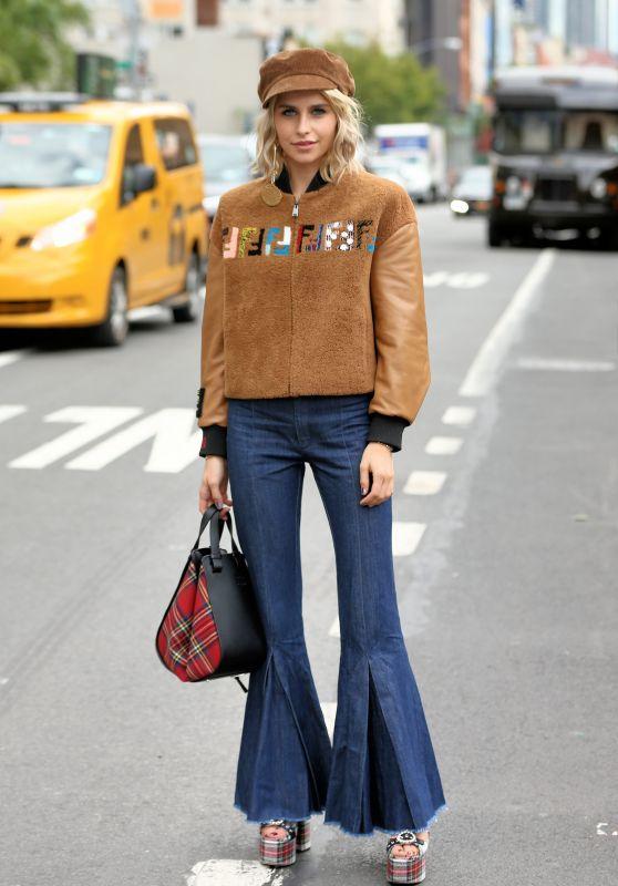 Caroline Daur – Jonathan Simkhai Fashion Show in NYC 09/09/2017