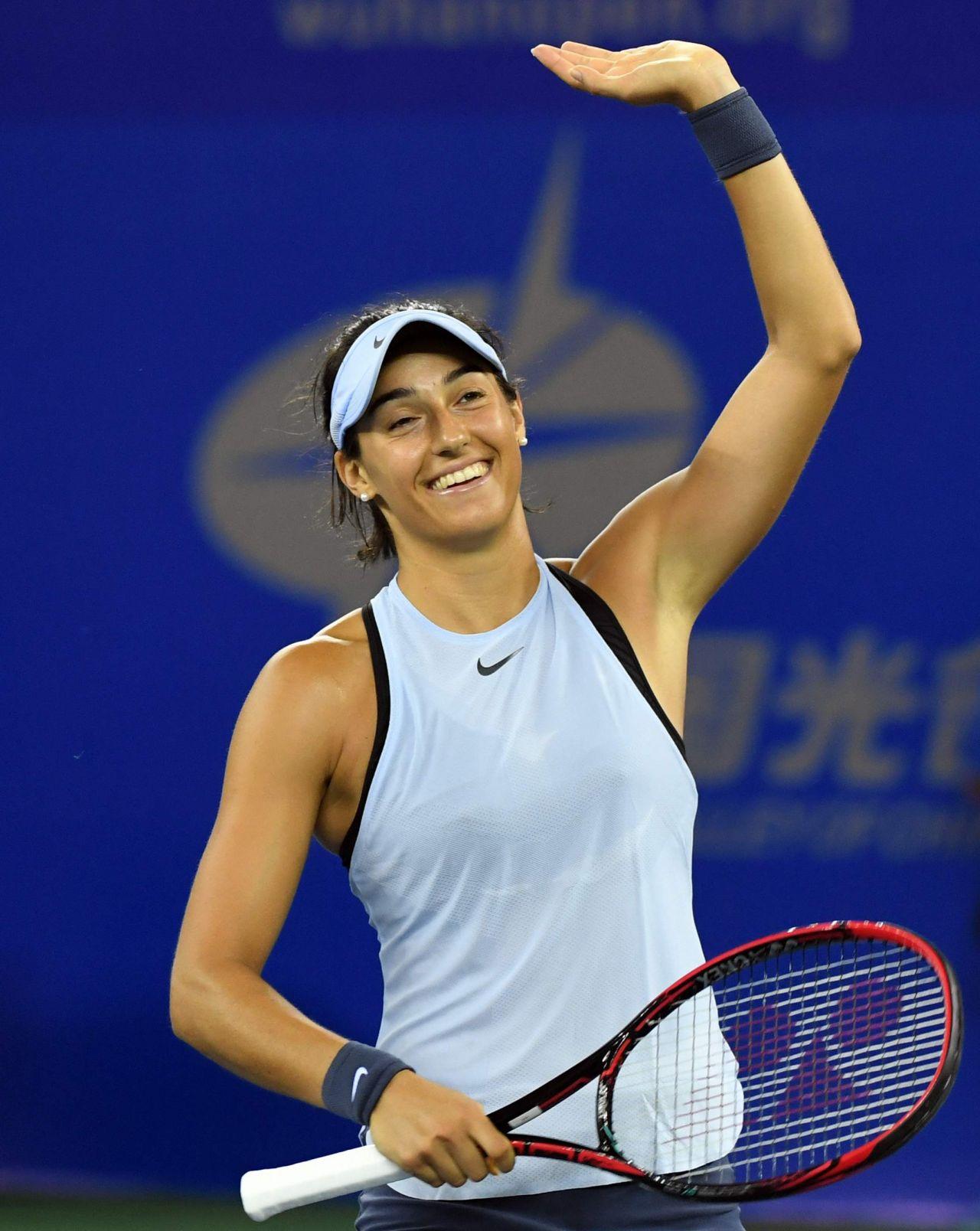 Caroline Garcia 2017 Wta Wuhan Open 09 28 2017